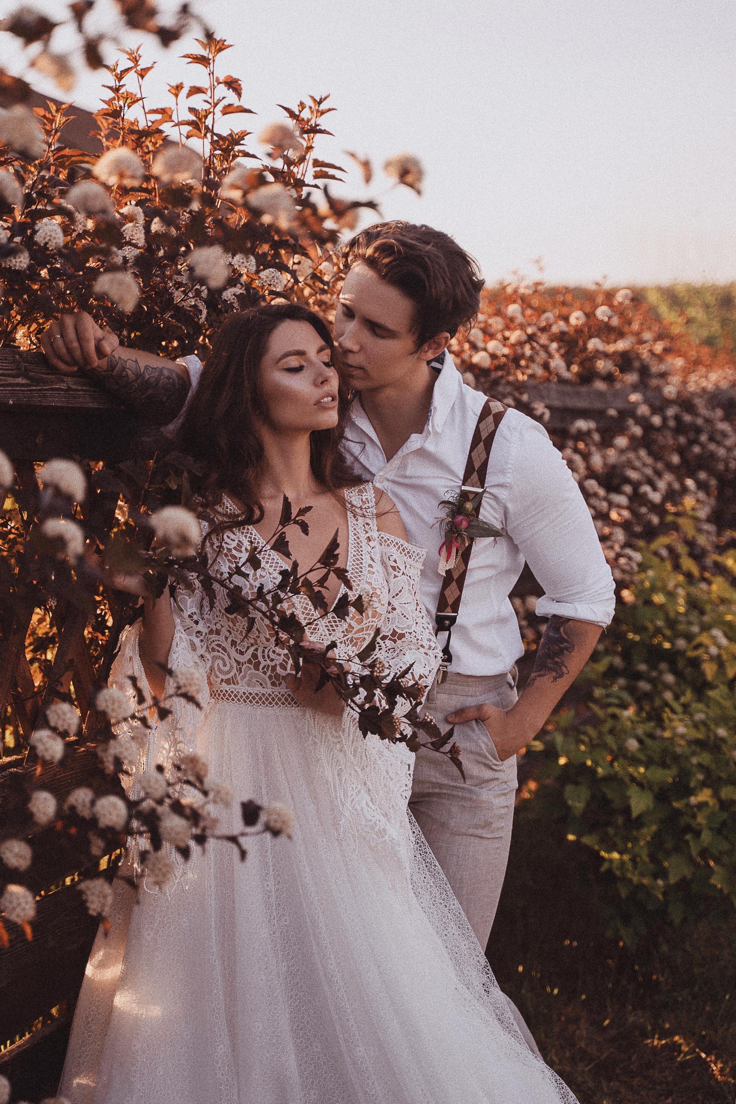 Свадебная съёмка «Полный день»
