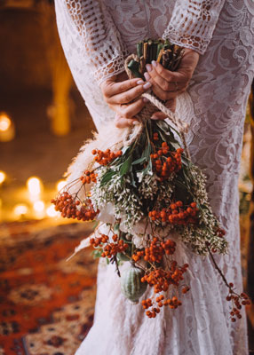 Autumn Bride preset— спресетом