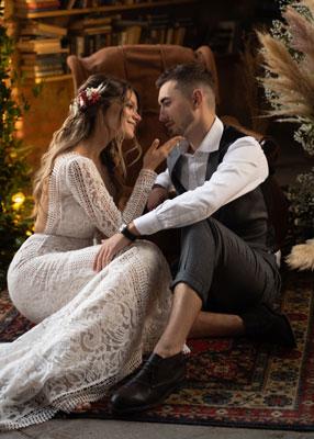 Autumn Bride preset— без пресета